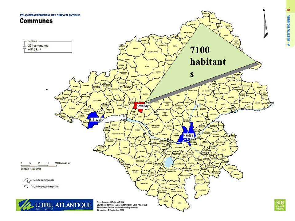 Canton Loire et Sillon - 8 communes - 21 348 habitants dont 18 % de plus de 60 ans -2 EHPAD privé associatif 130 lits - ESAT FOYERS 249 places - MAS 45 Lits -1 HOPITAL de proximité 9 médecine 30 SSR 39 USLD-SMTI 128 EHPAD 25 SSIAD EHPAD public autonome 95 lits CHS + USLD 80 lits EHPAD privé associatif 41 lits EHPAD public autonome 120 lits EHPAD Privé associatif 73 lits EHPAD public autonome 80 lits EHPAD Privé associatif 91 lits EHPAD Privé associatif 60 lits EHPAD privé associatif 80 lits EHPAD privé associatif 66 lits