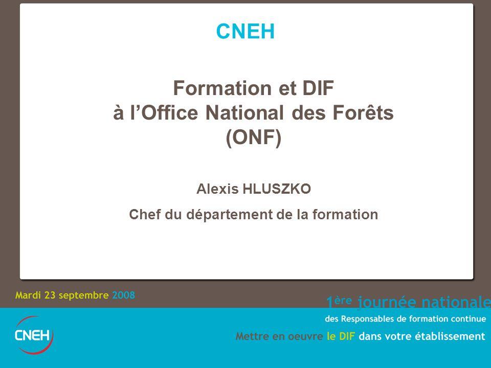 En couleur : personnels fonctionnaires En hachuré : personnels ouvriers forestiers Offre nationale de formation ONF 3 26% 74%