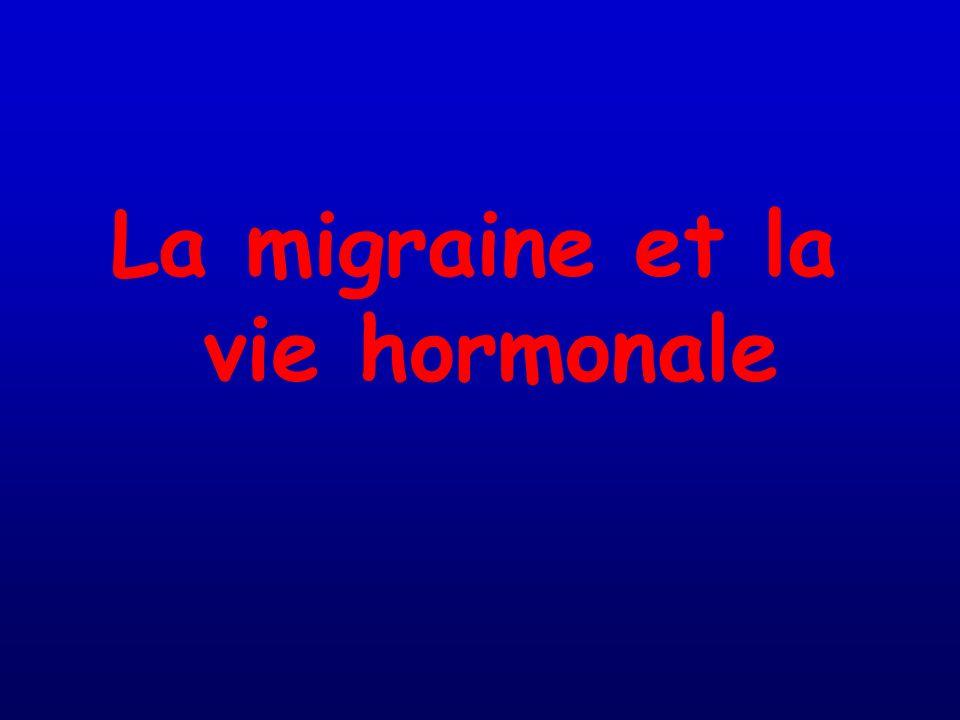 La migraine et la vie hormonale
