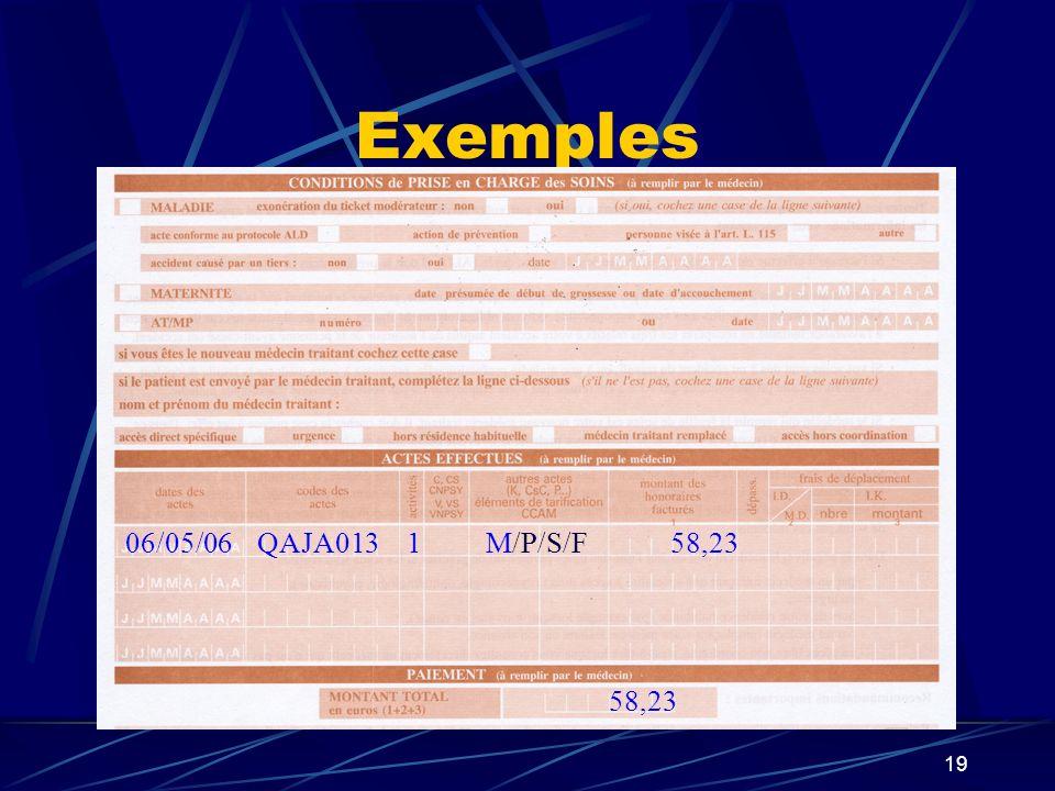 20 Exemple de lexception DEQP0031M/P/S/F13,0706/05/06 33,07 C20,00