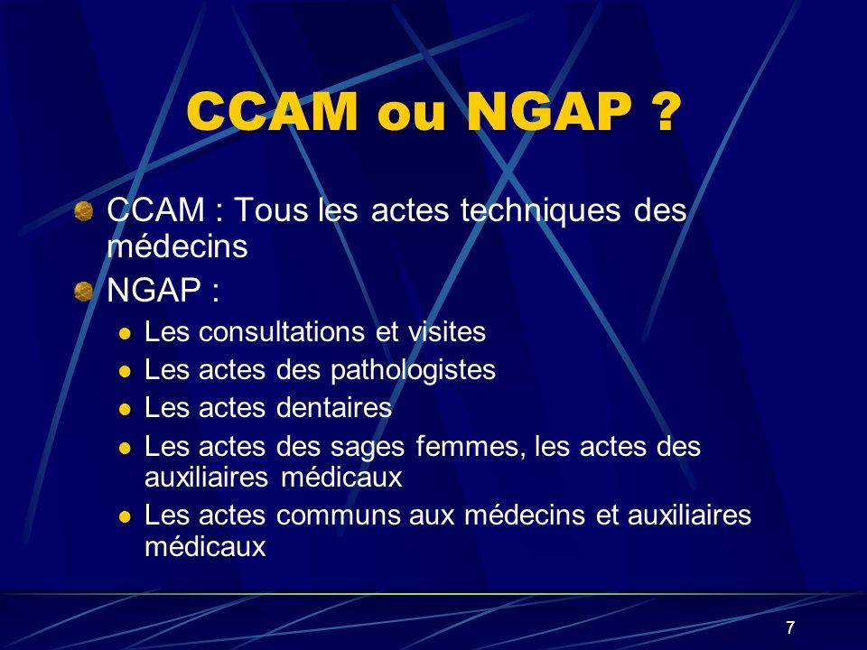 8 Construction de la CCAM Travail conjoint de lÉtat, AM et 40 Sociétés savantes.