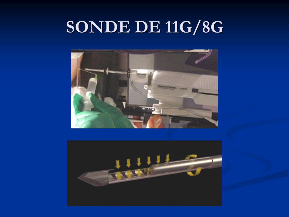SONDE DE 11G/8G