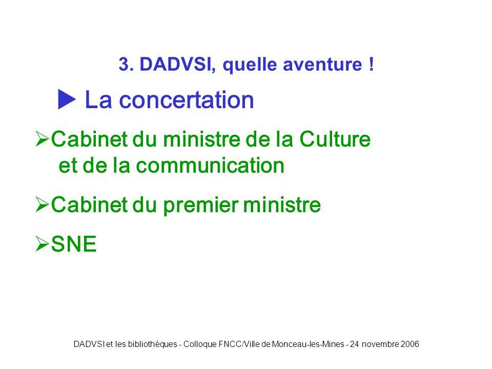 DADVSI et les bibliothèques - Colloque FNCC/Ville de Monceau-les-Mines - 24 novembre 2006 3.