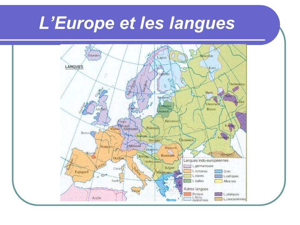 LEurope et les langues