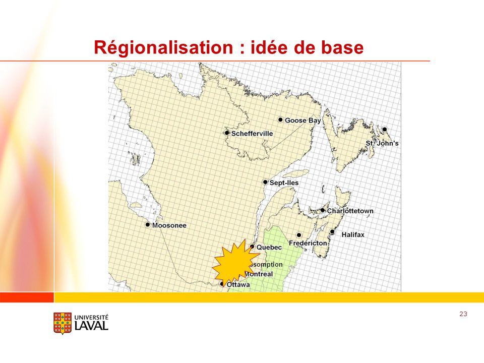 www.fsg.ulaval.ca Régionalisation : idée de base 23 LAssomption