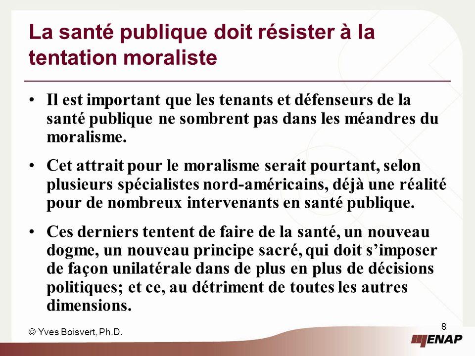 © Yves Boisvert, Ph.D.
