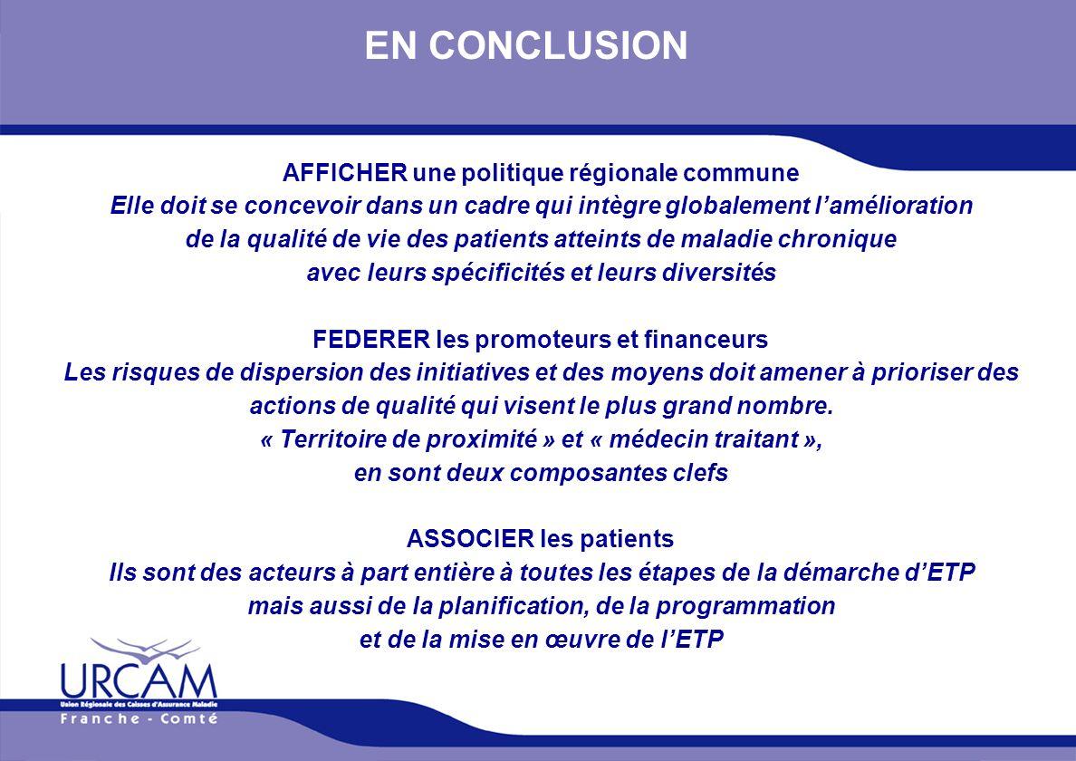 URCAM - 12/01/2014 EN CONCLUSION AFFICHER une politique régionale commune Elle doit se concevoir dans un cadre qui intègre globalement lamélioration d