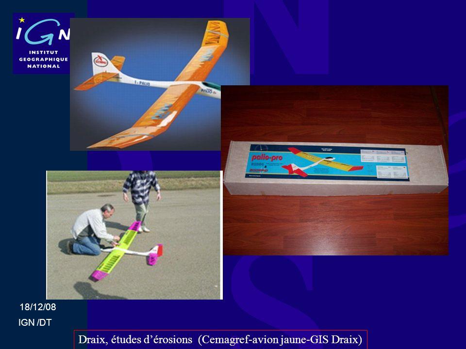 18/12/08 IGN /DT Draix, études dérosions (Cemagref-avion jaune-GIS Draix)