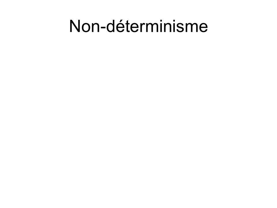 Non-déterminisme
