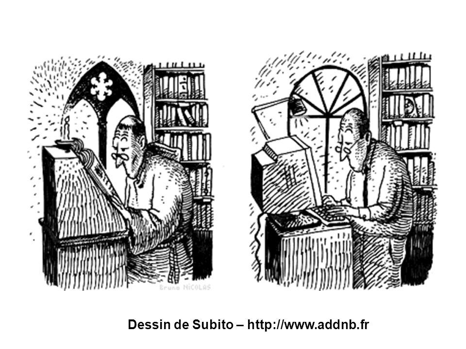 Bibliothèques hybrides, bibliothèques à la carte – ABF Paris, 26 novembre 2007 Dessin de Subito – http://www.addnb.fr