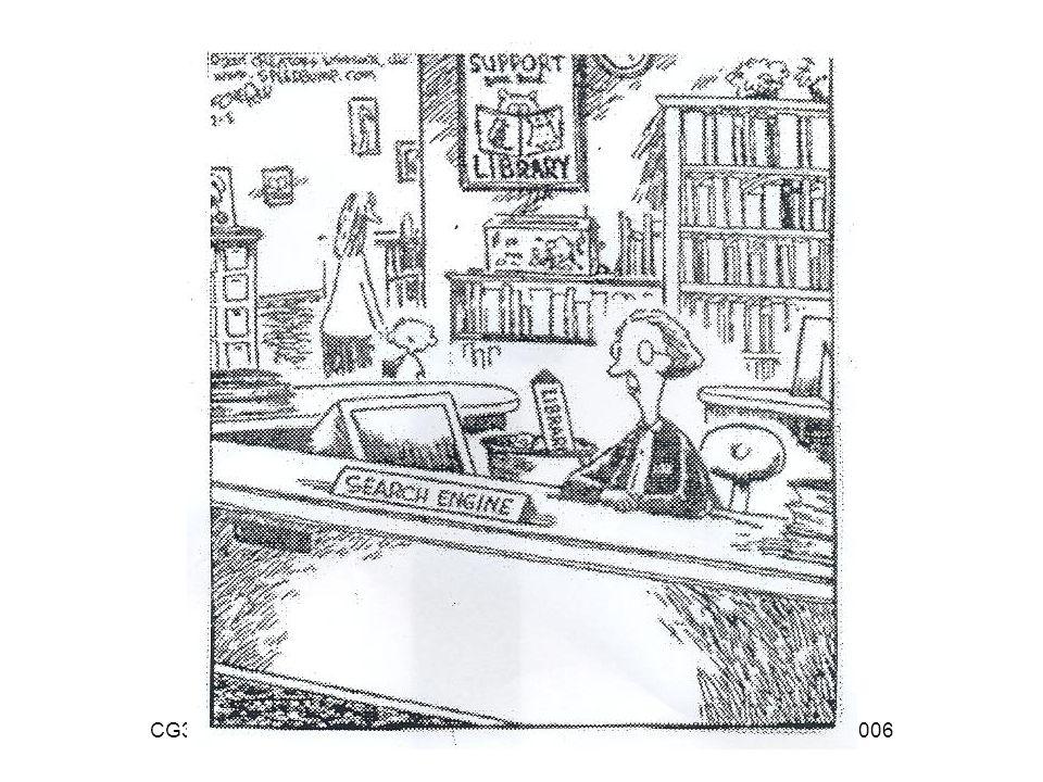 CG38 - Bibliothécaires et bibliothèques de demain – Grenoble, 16 novembre 2006 Searchengine