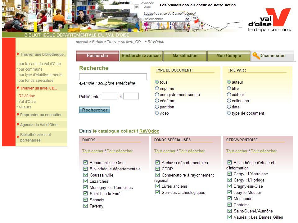 Premier congrès de lAIFBD, Montréal, 3-7 août 2008 : Innovations, changement et réseautage http://bibliotheques.valdoise.fr