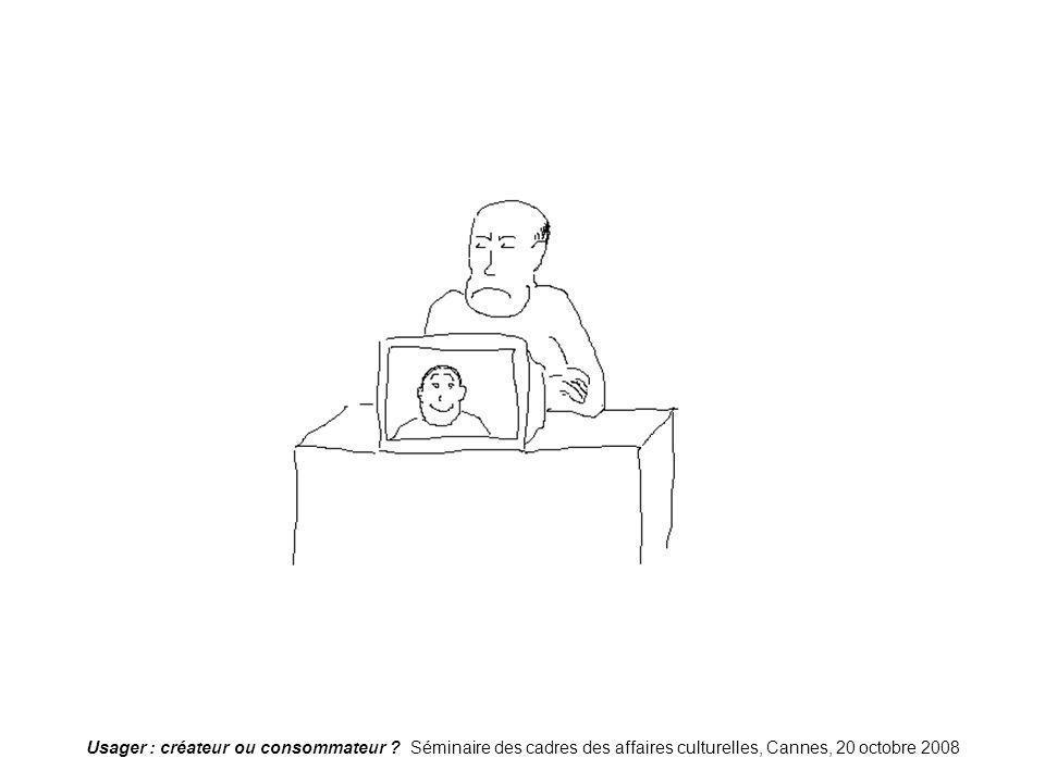 Usager : créateur ou consommateur ? Séminaire des cadres des affaires culturelles, Cannes, 20 octobre 2008 Nouvellerelation