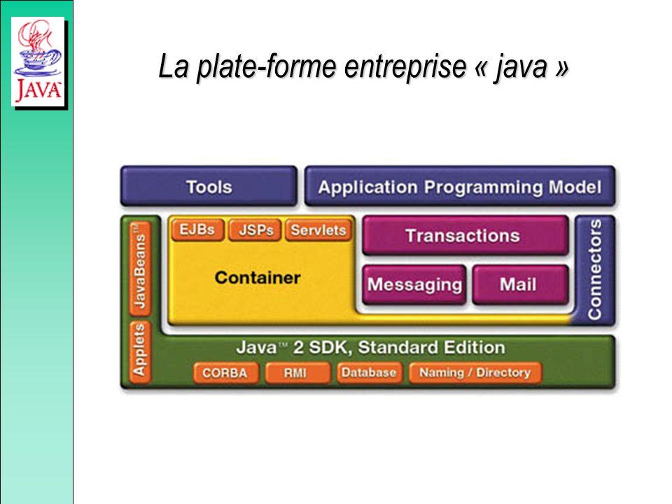 Quelques atouts de java Les principaux atouts de java : –génère des applications portables, –un langage simple et puissant, –un langage qui introduit directement la notion de thread, –une API très riche, –une gestion automatique de la mémoire.