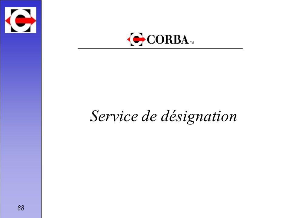 88 Service de désignation