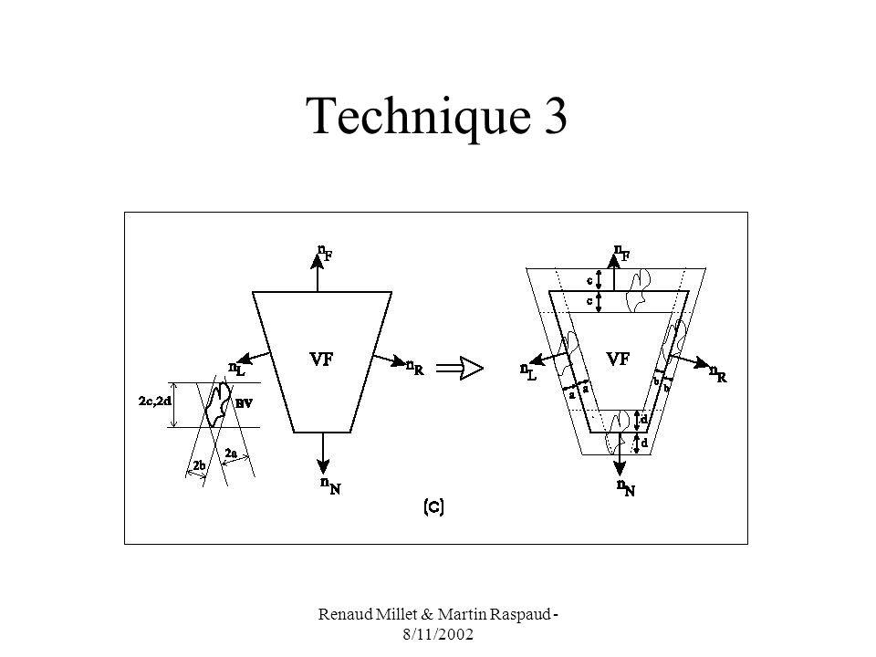 Renaud Millet & Martin Raspaud - 8/11/2002 Technique 3