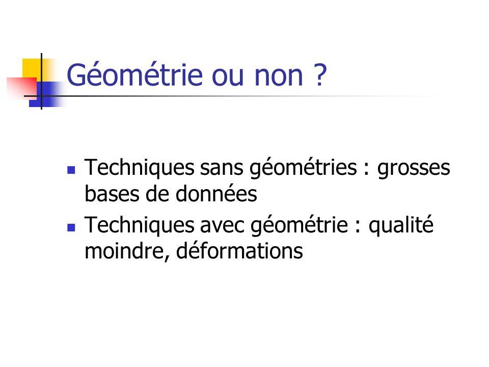 Géométrie ou non .