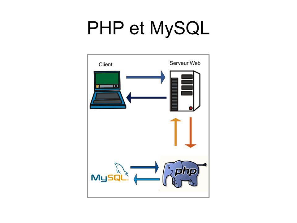 PHP et MySQL