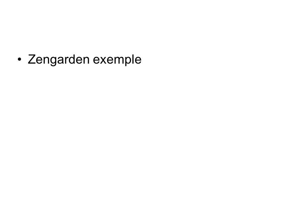 Zengarden exemple