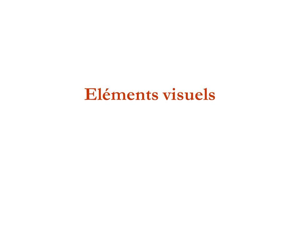 Eléments visuels