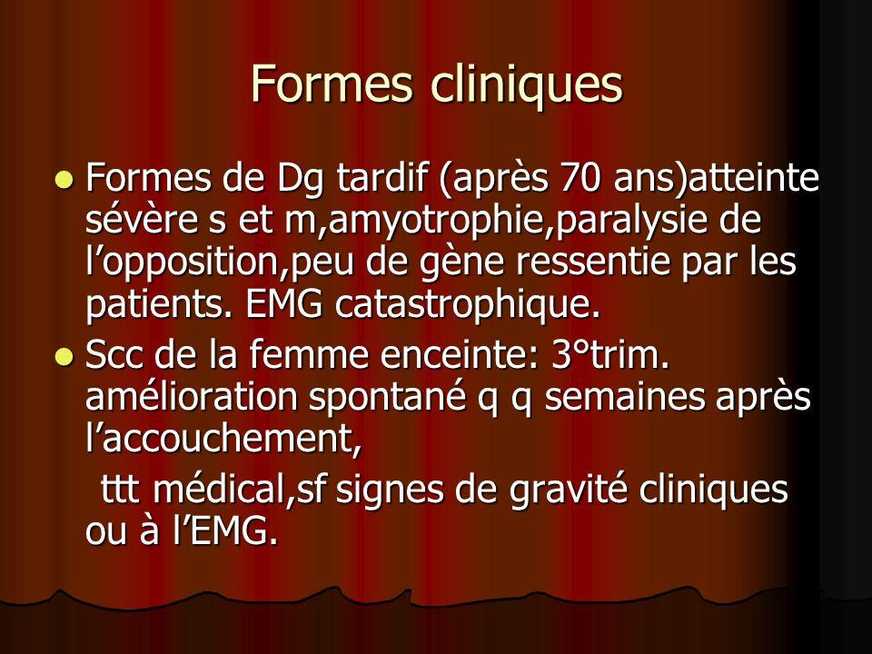 Formes secondaires : tumorales,infectieuses,inflammatoires,trau matiques,métaboliques,endocriniennes,… ………… Formes secondaires : tumorales,infectieuses,inflammatoires,trau matiques,métaboliques,endocriniennes,… ………… Formes à double compression : scc et NCB C7(double crush syndrome).ou scc et syndrome de défilé thoracobrachial.