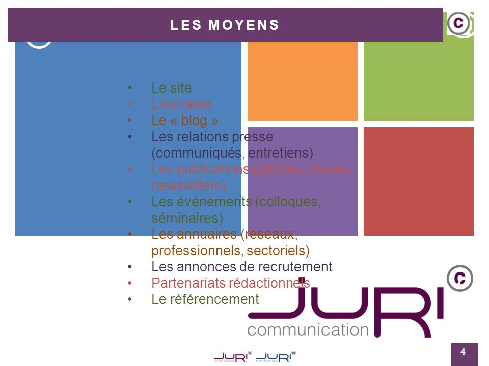 11 Les annonces de recrutement 15 Le recrutement dun collaborateur ou dune assistante peut être également une opportunité de communiquer sur le Web.
