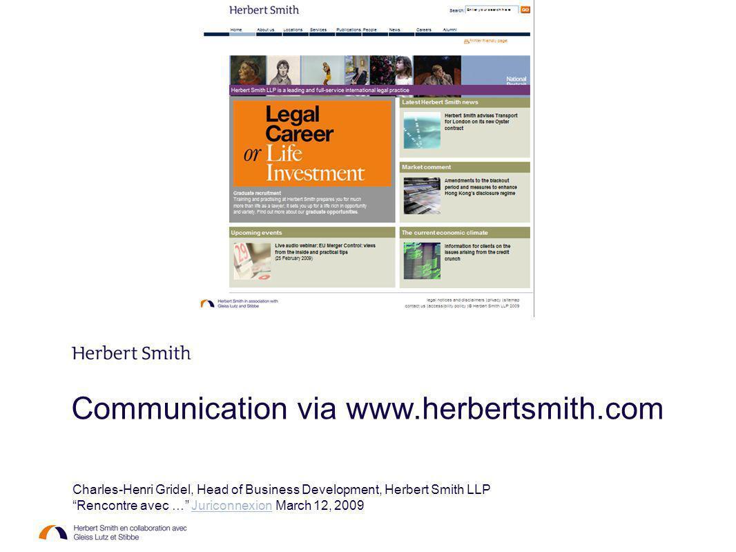 2 1 http:/ / www.herbertsmith. com/ 2 http:/ / www.