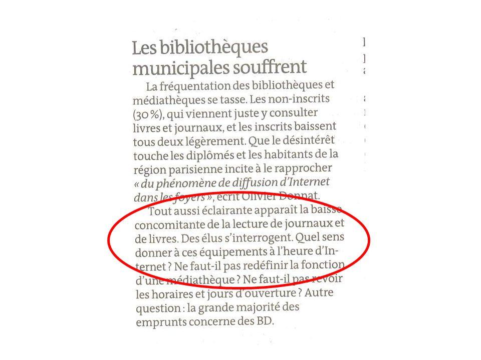 Dominique Lahary : Numériser pour qui Pour quoi – ABF PACA, 19 octobre 2009 Le monde
