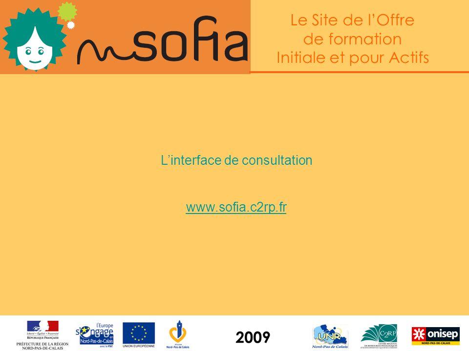 Le Site de lOffre de formation Initiale et pour Actifs 2009 De nouveaux contenus Un portail à lergonomie totalement renouvelée Des données transmises