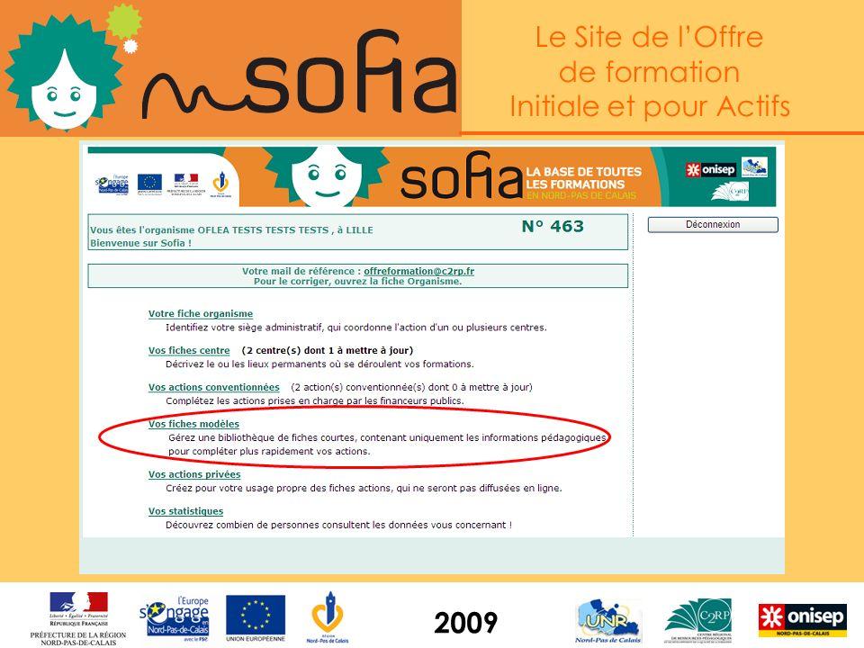 Le Site de lOffre de formation Initiale et pour Actifs 2009