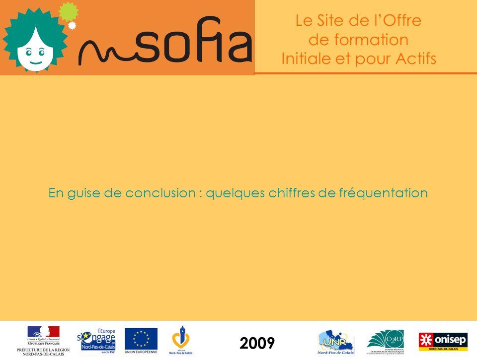 Le Site de lOffre de formation Initiale et pour Actifs 2009 Une base transmise quotidiennement au système Ofaa (Pôle Emploi) En cours : alimentation d