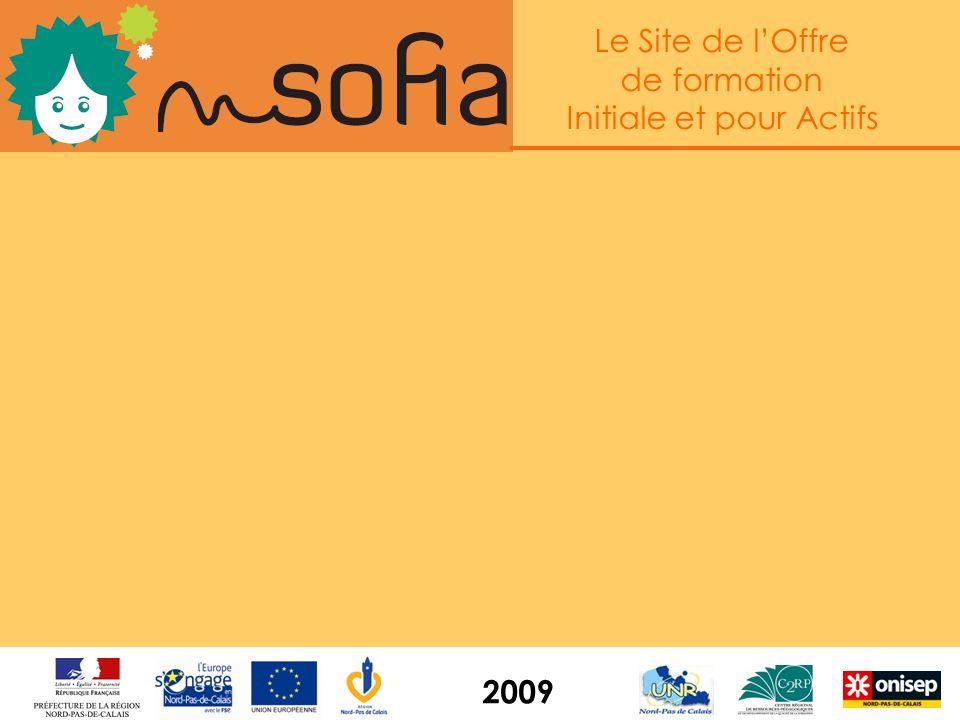 Le Site de lOffre de formation Initiale et pour Actifs 2009 Lobjectif : doubler au moins les visites sur le site Offre en 2009 grâce à : - la nouvelle