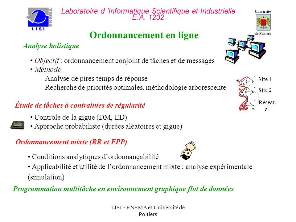 Université de Poitiers Laboratoire d Informatique Scientifique et Industrielle E.A.
