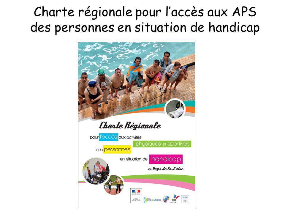 Charte régionale pour laccès aux APS des personnes en situation de handicap