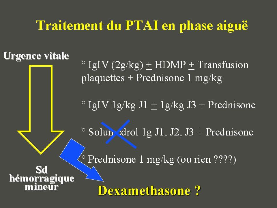Initial treatment of immune thrombocytopenic purpura with high-dose dexamethasone Cheng et al.