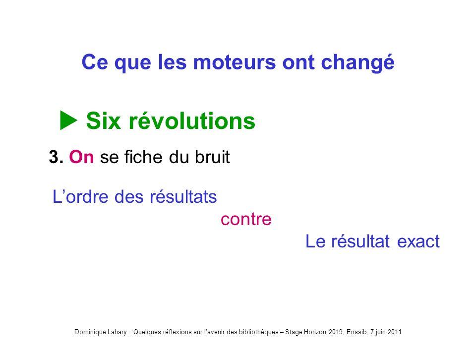 Ce que les moteurs ont changé Six révolutions 3.