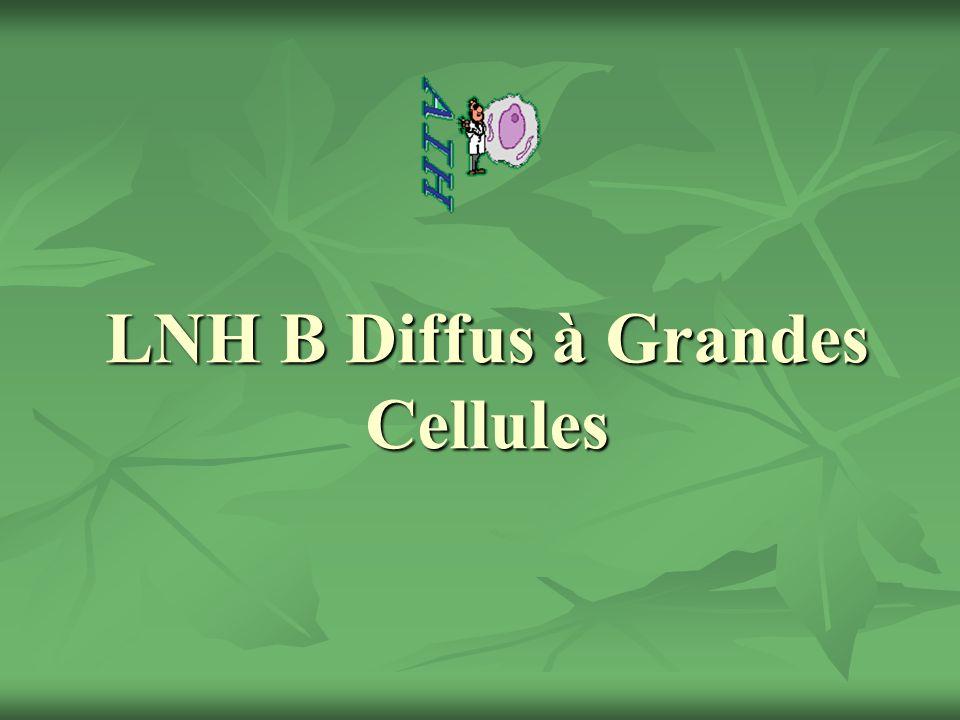 DLBCL et Rituximab Rituximab en monothérapie : Phase II.