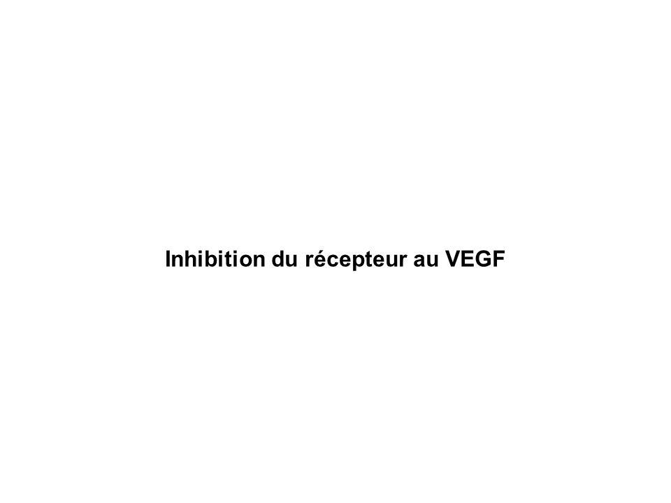 Inhibition du récepteur au VEGF