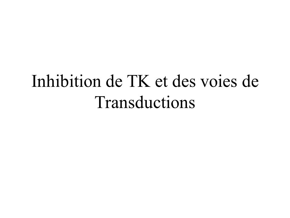 Inhibiteur de NFkb Romano et Al Leukemia 2003;1190