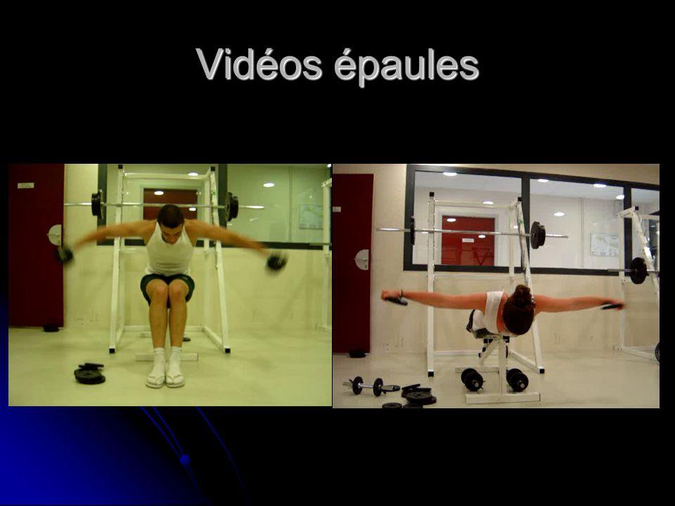 Vidéos épaules