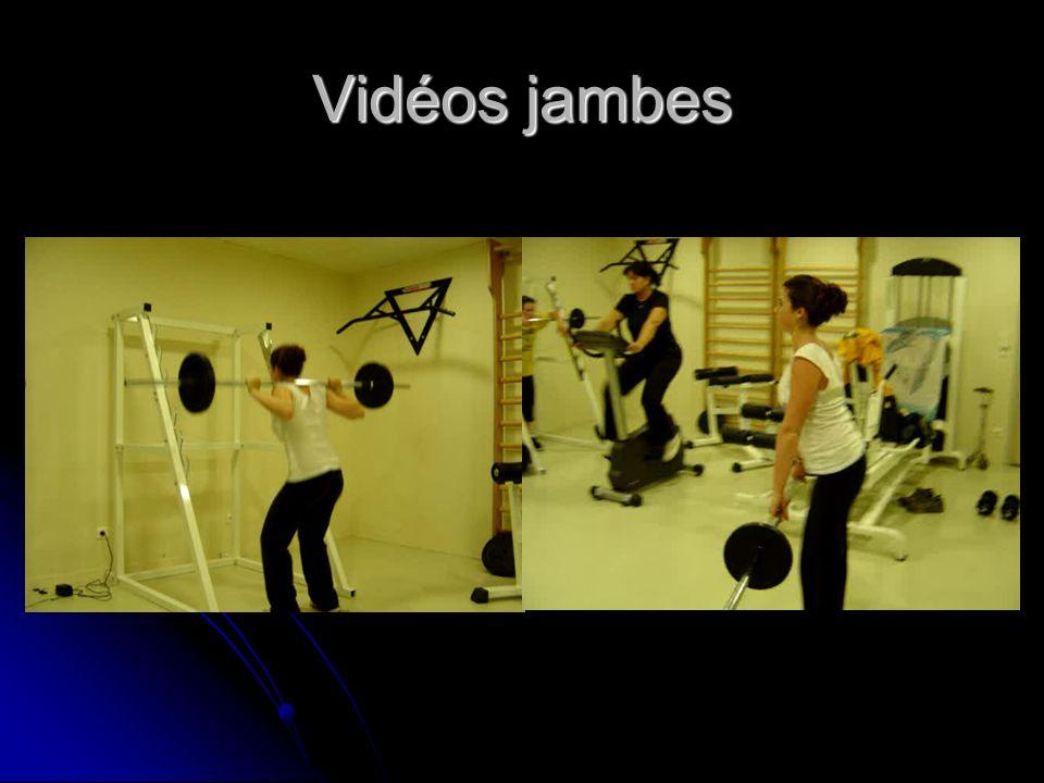 Vidéos jambes