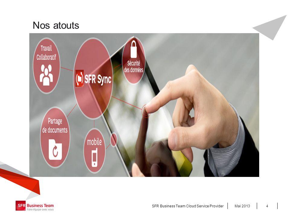Une Stratégie As a Service, Mai 2013SFR Business Team Cloud Service Provider5