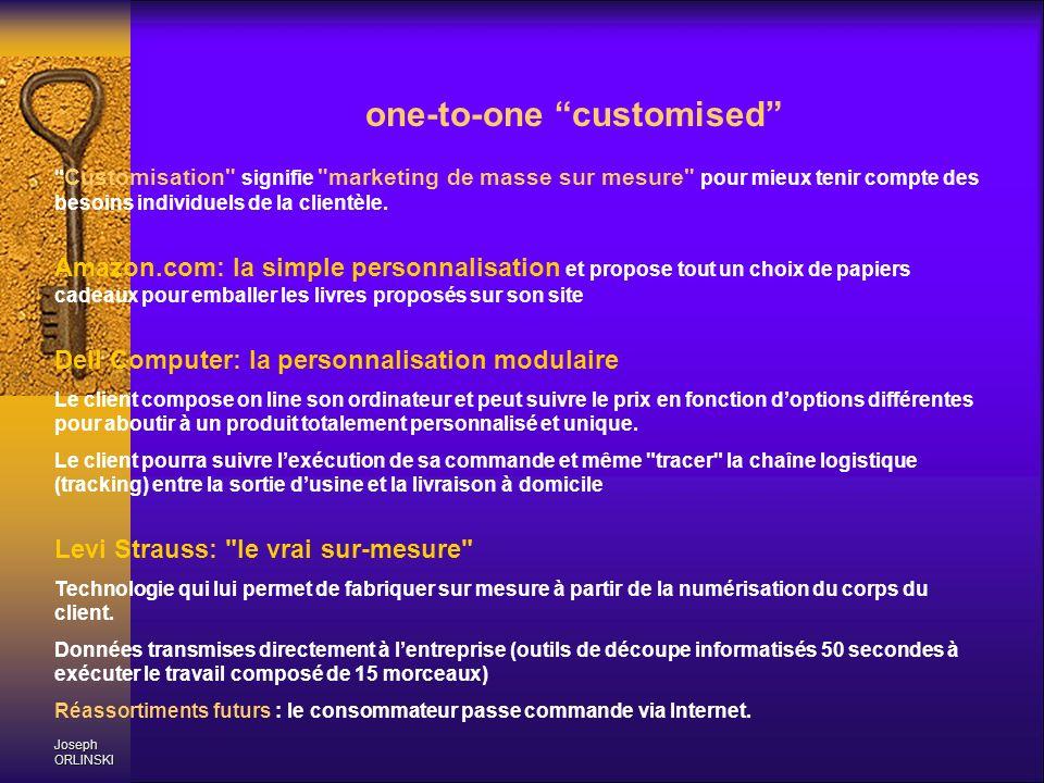 Joseph ORLINSKI one-to-one customised