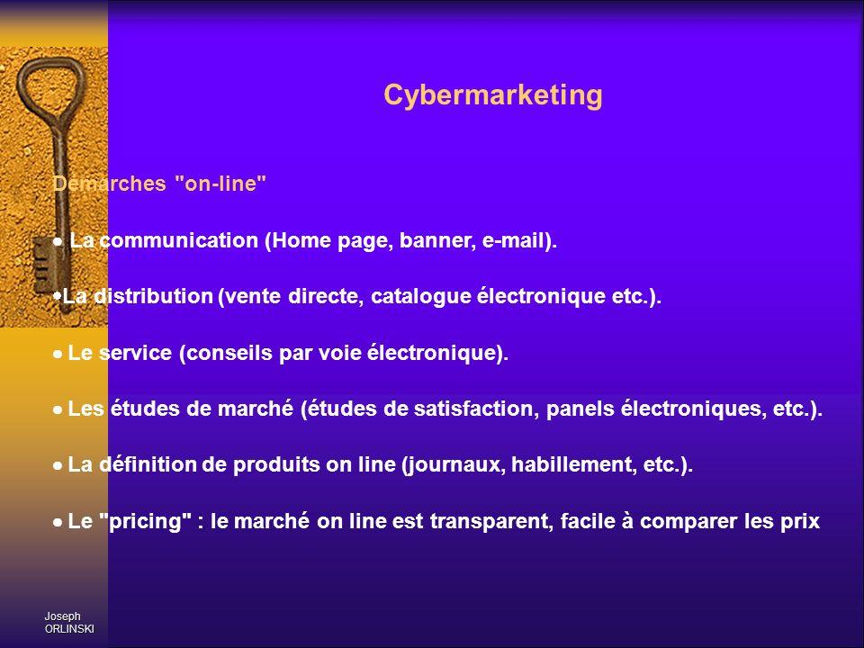 Joseph ORLINSKI Cybermarketing Démarches