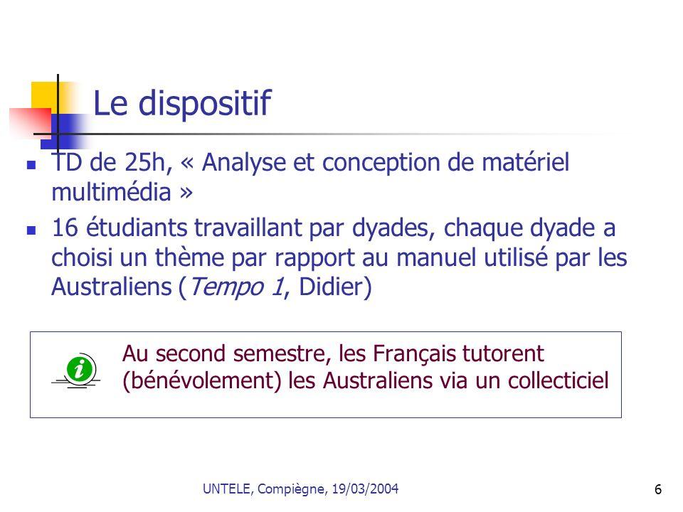 7 Consignes, modalités de travail et accompagnement Réaliser des activités multimédias autocorrectives pour certaines et ouvertes pour dautres destinées à faire pratiquer le français et à présenter la région (point de vue interculturel).