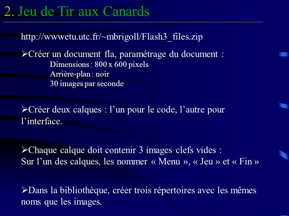 Jeu de Tir aux Canards2.