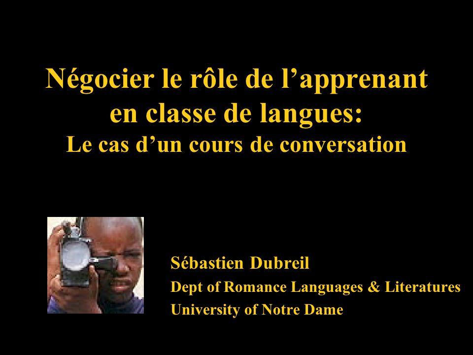 Le contexte… Pour la connaissance dune langue, ce sera grand profit si lenfant est nourri entre ceux qui la parlent bien.