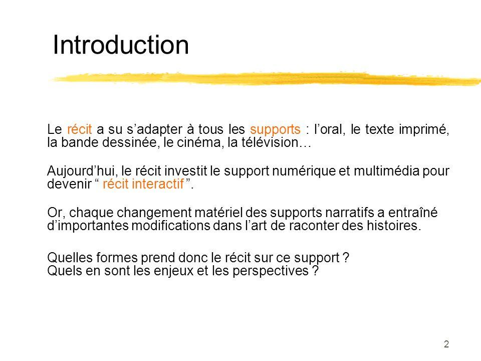 43 Le rôle du support : un « passage à la limite » Lévolution des supports : tentative de « manipulabilité » toujours plus importante.