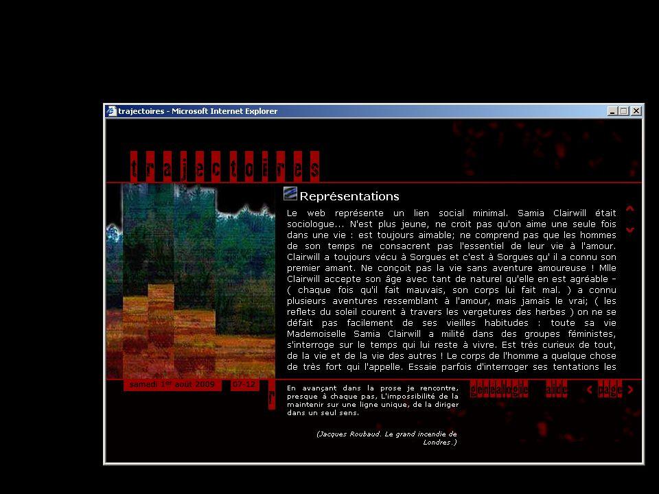 39 Le récit Abîmes suggère à son lecteur daller voir le code source dune page HTML pour y trouver dautres informations, dautres indices.
