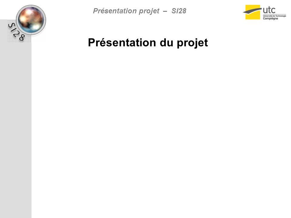 Présentation projet – SI28 Présentation du projet